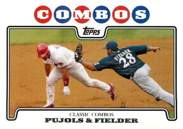 2008 Topps Pujolsfielder Base Card For 200 You Bet Tan Man