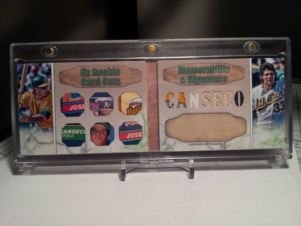 Fun With Micro Cards Time Capsule Relics Tan Man Baseball Fan